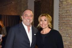 Il Prof. Giulio Basoccu e la Dott.ssa Jessica Veronica Faroni (Presidente e Vicepresidente Secondo Cuore Onlus)